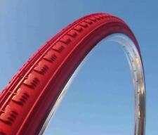 """Tire Red 28 x 1 1/2 40x635 700x35B bike type old vintage route 28"""" inches"""