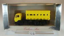 Herpa 1/87 Mercedes Benz Camion abrollmulde realistico Frankenthal OVP #5258