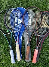 LOT OF 4 VINTAGE PRO KENNEX GRAPHITE TENNIS RACKETS RARE COLLECTION 1980'S