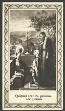 Estampa antigua Sagrada Familia andachtsbild santino holy card santini