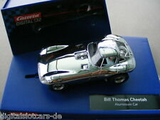 Carrera Digital 132 30648 Thomas Cheetah Aluminium Car LICHT NEU