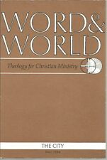 Word & World Fall 1994 The City