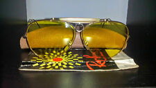 Ray Ban Shooter Bausch & Lomb Kalichrome 8mm vintage driving glasses gold plated