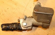 2001 HONDA CR80R  FRONT BRAKE MASTER CYLINDER WITH BROKEN LEVER