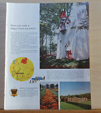 1960 magazine ad for Ethyl gas - Enchanted Castle Story Book Forest Ligonier PA