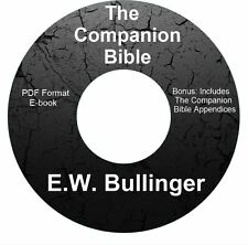 THE COMPANION BIBLE-E W Bullinger-CD Ebook PDF-Kindle-iPhone-Droid Compatible