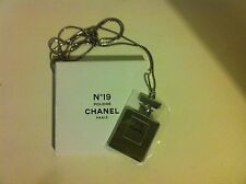 "CHANEL Authentic Necklace Pendant Perfum bottle ""N°19 Poudré"""