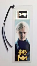 HARRY POTTER MALFOY Movie Film Cell Bookmark - complements movie dvd poster