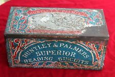 HUNTLEY & PALMERS SUPERIOR READING BISCUITS , ENGLAND