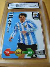 LIONEL MESSI ARGENTINA 2010 ADRENALYN XL GAME CARD NN0 GRADED 9 L@@@K