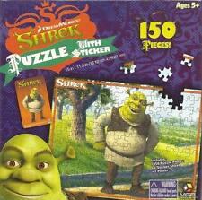 2006 Dreamworks Shrek 150 Piece Puzzle W/ Sticker & Poster Ages 5+ NEW Sealed