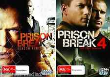 Prison Break Seasons 3  & 4 : NEW DVD