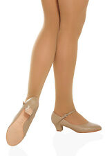 So Danca CH50 Women's Size 7.5 Medium Tan Character Shoe (WITH DEFECTS)