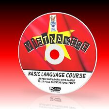 VIETNAMESE LANGUAGE COURSE FOR BEGINNERS PC-CD MP3 & TEXT NEW EASY 2 LEARN NEW