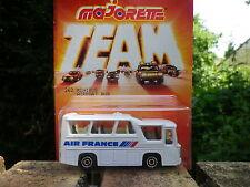 MAJORETTE TEAM FRANCE années 80 MINIBUS AIR FRANCE 1/87 Neuf blister scellée