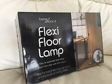 Flexi Floor Lamp. Office. Home Decor. Living Room. Study Brand New Silver