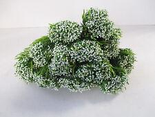 Confezione di 12 BOCCOLE Artificiale Gypsophila - 40 cm - 5 steli per la fioritura delle piante