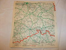 alte Landkarte Karte Lageplan Leuna - Zapfstellenkarte mit Verzeichnis 1934