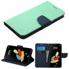 For LG Stylo 2 Stylo 2 Plus Stylus 2 Stylus 2 Plus Wallet Case Cover Stand Mint