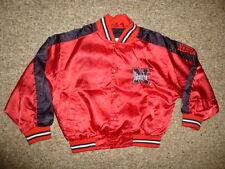 Vtg NEBRASKA CORNHUSKERS Football Red STARTER JACKET Coat Size 4T Toddler Boys