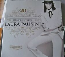 "LAURA PAUSINI ""20th THE GREATEST HITS"" 4LP COPY N. 698/1500 RARE OUT OF PRINT"