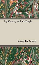 My Country and My People Yutang Lin Books-Good Condition