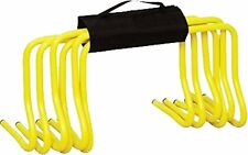 """OSG Set Of 6 Soccer Speed Agility Training 6"""" Hurdles With Carry Strap"""