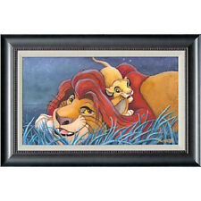 The Lion King Mufasa Playing w/ Simba Father & Son Father's Day Giclée on Canvas