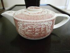 CURRIER AND IVES DROOP NOSE LIGHTHOUSE TEAPOT - Extremely rare