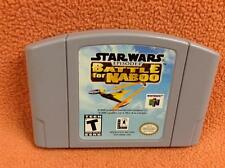 Star Wars Battle for Naboo Nintendo 64 N64 Game *Cart Only* Super FREE SHIP!