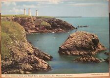 Irish Postcard TRAMORE Metal Man Great Newtown Hd Waterford Ireland Hinde 2/158