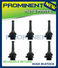 SET OF 6 NEW IGNITION COIL FOR Volvo 1999 XC70 AND OTHERS UF341 C1258 9125601