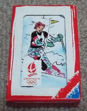 Albertville 92 Winter Olympics Jeu de 7 Familles Playing Card Game - Happy
