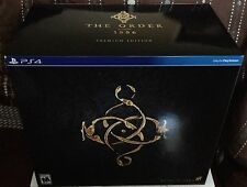 PS4 The Order: 1886 Premium Edition inc 2 Exc DLC Knight's Endurance & Arsenal
