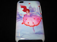 Ballerina Cover Case for iPod Touch 4th Gen New Ballet Dancer Cartoon Art Case