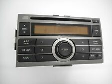2007-2009 Nissan Sentra AM Fm Radio CD Player Auxiliary Input - Part 28185ET000