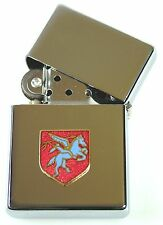 AIRBORNE DIVISION PARAS  WINDPROOF CHROME PLATED LIGHTER SM