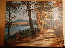 Vintage Victory Artistic Gold Box Plywood Jigsaw Puzzle 600 pieces - COMPLETE