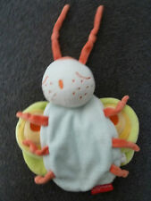 Les Bebettes Butterfly Baby Comforter / Blankie / Soft Toy Blanket Plush Dou