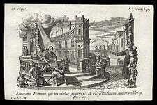 santino incisione1700 S.CESARIO V. DI ARLES  klauber