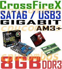 GAMING COMBO AMD FX-4350 AM3+CPU+8GB DDR3 RAM+ASUS M5A97 LE R2.0 CFX Motherboard