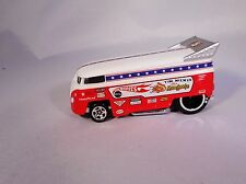 "100% HOT WHEELS VOLKSWAGEN DRAG BUS TOM McEWEN'S ""THE MONGOOSE"" RARE DIE CAST!"