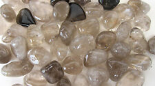 *THREE* Smoky Quartz Tumbled Stone 20-30mm QTY3 Healing Crystal Reiki
