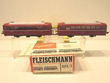 Fleischmann 1372/2 Schienenbus 2-teilig VT / VS 98 der DB, Sehr gut erhalten!OVP