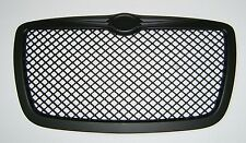 2005-2010 Chrysler 300 300C Front Grill Hood Grille Black Bentley Style
