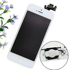 Blanc Pour Apple iPhone 5 Kit COMPLET ÉCRAN LCD CHASSIS VITRE TACTILE Neuf ABST