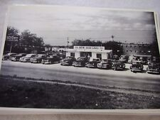 1948 USED CAR LOT FORD CHEVROLET BUICK STUDEBAKER 12 X 18 LARGE PICTURE   PHOTO