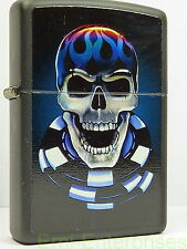 Zippo American Hardcore CHIP SKULL  Totenkopf auf Pokerchips Fantasy Horror