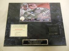 Dale Earnhardt Jr The Intimidator Plaque With Actual Racing Tire Relic 022614ame