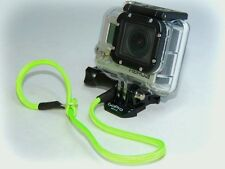 30cm Green Paracord Tether / Wrist Safety Strap / Lanyard for GoPro Hero 2 3